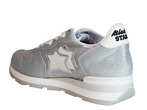Atlantic Stars Sneakers Donna VEGACAA86B Pelle Argento