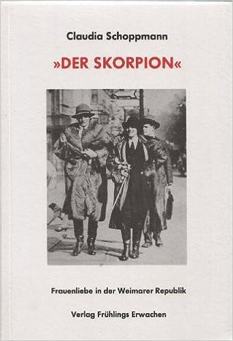 """Schoppmann, Claudia - """"Der Skorpion"""""""