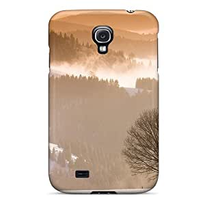 New Winter In The Black Forest In Germany Tpu Case Cover, Anti-scratch DaMMeke Phone Case For Galaxy S4