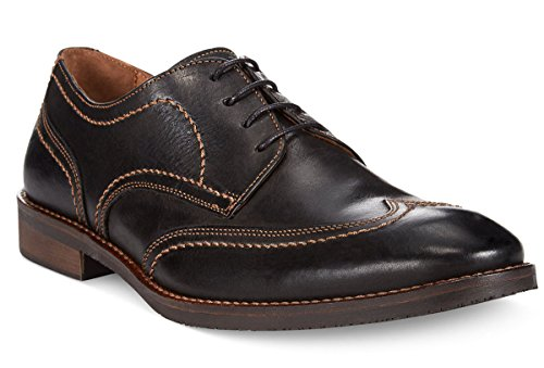 Johnston & Murphy Hommes Jarrell Wing-tip Chaussures Oxford Marron Foncé