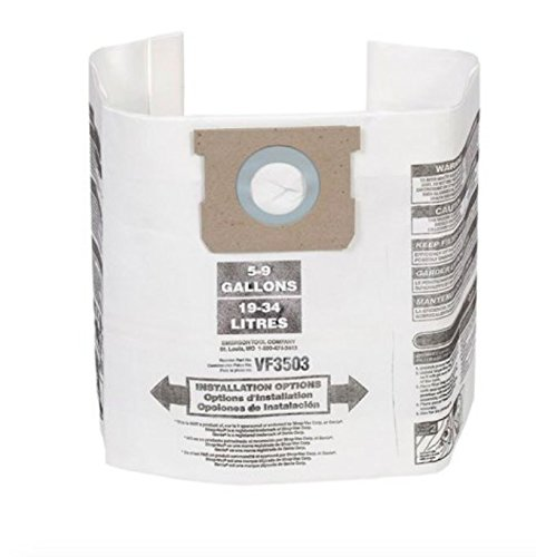 Ridgid 40153 Dust Bag, 6-9 gallon