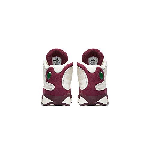 Jordan Air Retro 13 Gg Wolf Grijs Lifestyle Casual Schoenen Sail-metallic Rood Brons / Bordeaux