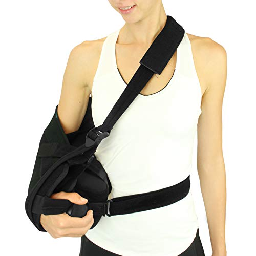 Vive Shoulder Abduction Sling - Immobilizer for Injury Support - Pain Relief Arm Pillow for Rotator...