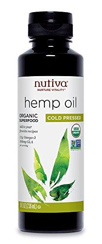 Nutiva Organic Hemp Oil, 8 Ounce