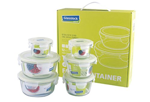 Price comparison product image Glasslock Tempered Glass Food Container 12pcs SET