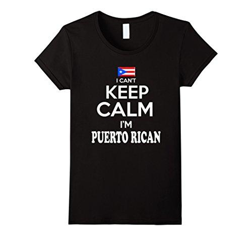 Women's Puerto Rico I Cant Keep Calm Im Puerto Rican tshi...