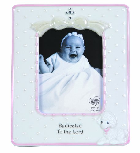 Precious Moments Dedicated to The Lord Girl Frame Figurine