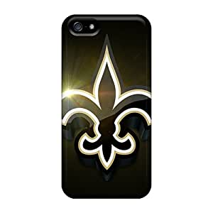 Unique Design Iphone 5/5s Durable Cases Covers New Orleans Saints