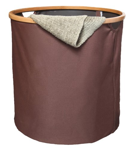 FHE Group Collapsible Storage Basket, 17.5 by 17.5 by 17.5 Inches, Brown by The FHE Group