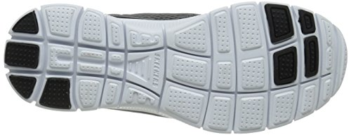 Homme nbsp;covert Flex Sneakers ccbl Basses Action Skechers Gris Advantage 6zAYqfqw