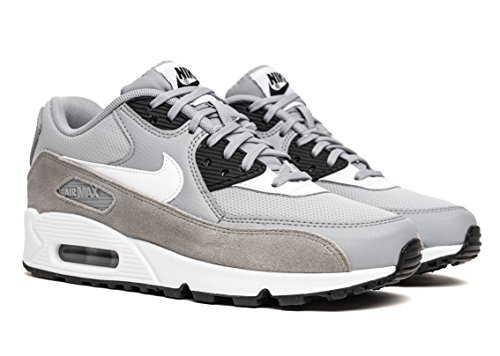 Nike - Air Max 90 - 325213042 - Color: Black-Grey-White - Size: 6.0 by NIKE