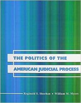 Book The Politics of the American Judicial Process