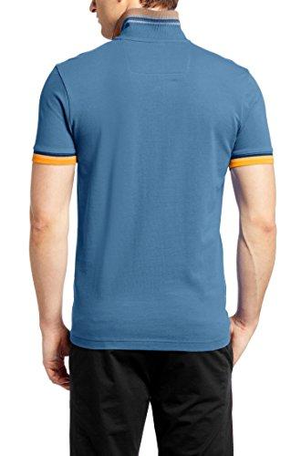 Hugo Boss Mens Short Sleeve Slim-fit Piqué Polo Shirt 'Paule 7' By Boss Green (Xxl)