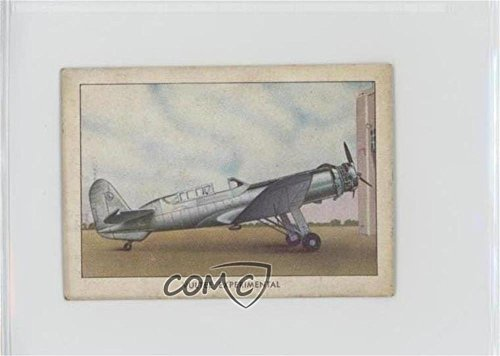 Vultee Experimental (Trading Card) 1940-42 Wings Cigarettes Series C - T87 - Wings Experimental