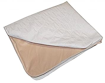 Atlas 1-Piece Pad Pack N Play Crib Mattress Cover - for All Baby Cribs, Play Yards and Foldable Mattresses - Waterproof, Dryer Safe -Soft and Comfy Flat Crib Protector, 300+ wash, Made in Canada