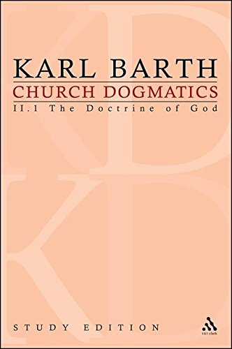 Church Dogmatics, Vol. 2.1, Section 31: The Doctrine of God,  Study Edition 9 pdf