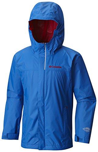Columbia Big Boys' Watertight Jacket, Super Blue, X-Small