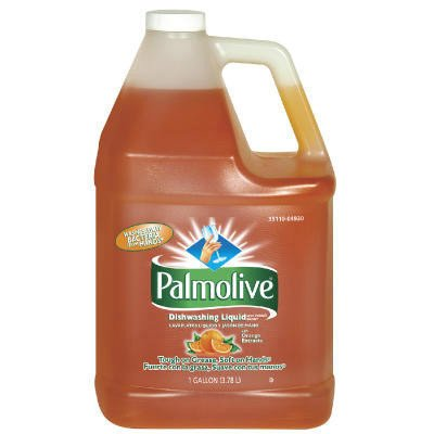 Palmolive 04930 Dishwashing Liquid & Hand Soap, Orange Scent, 1 gal Bottle (Case of 4)