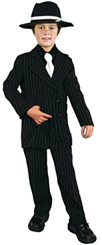 Charades Gangster Suit Children's Costume, -