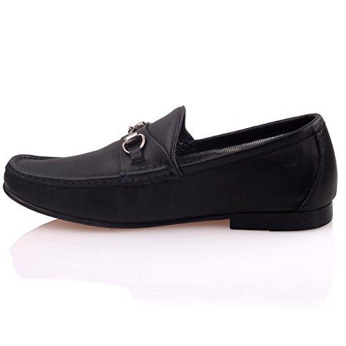 Zapatos rojos formales Unze para mujer El5ZbV