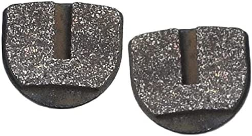 Set of 2 AlveyTech Rounded Brake Pads for Standard /& YK2 Flame Calipers