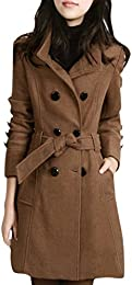 Amazon.com: Brown - Wool & Blends / Wool & Pea Coats: Clothing