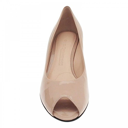 High Wedge und Shoe Patent Schmenger Kennel Toe Pink Peep 7Epqx