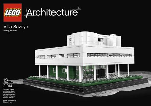 Lego Architecture Villa Savoye Collectible - 21014
