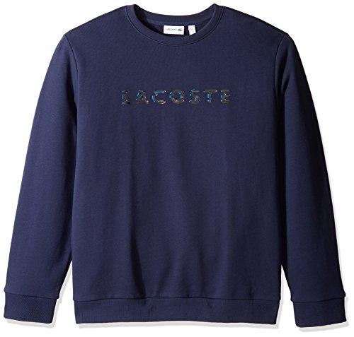 lacoste-mens-crewneck-3d-lacoste-logo-print-fleece-sweater-sh1971-51-navy-blue-6