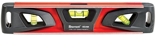 (Starrett Exact KLTX95-N Aluminum Extruded Torpedo Magnetic Level, 9.5