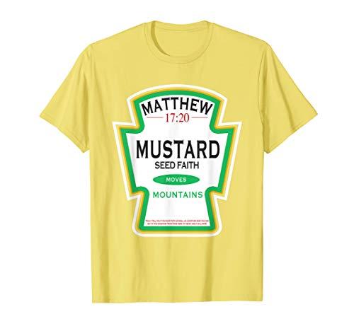 Faith as a Grain of a Mustard Seed Christian Parody T-Shirt