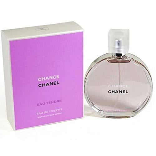 Chaneⅼ Chance Eau Tendre Eau de Toilette Women Spray 3.4 Fl. OZ. / 100ML. (Coco Chanel Mademoiselle Eau De Toilette 100 Ml)