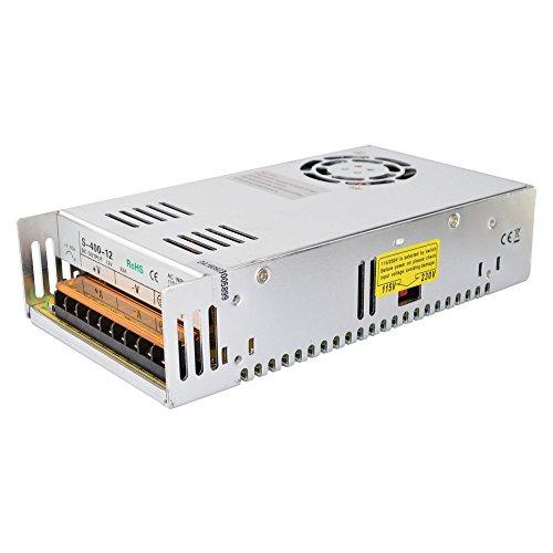 STEPPERONLINE Switching Power Supply 400W 12V 33A for 3D Printer Kits 115V/230V S-400-12 ()