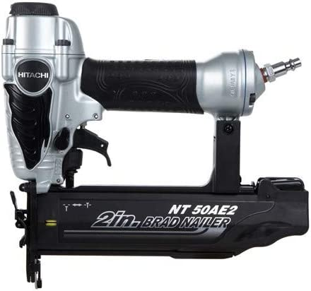 Hitachi NT50AE2 18-Gauge 2 in. Finish Brad Nailer Kit Renewed