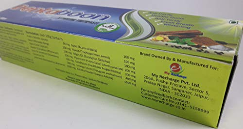 Buy My Recharge Dentaboon Anti Cavity Toothpaste Online at