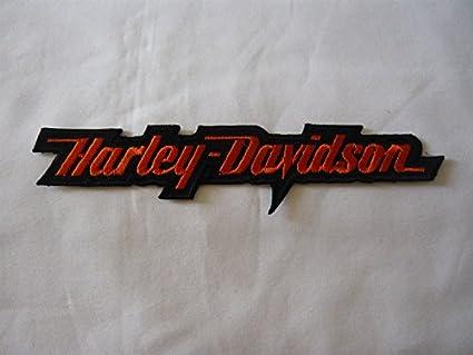 Harley Davidson Parche para Planchar, Aprox. 16 x 3,5 cm motorradclub Motocicleta Escudo de águila