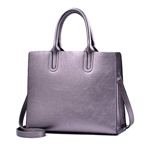 Soft Fashion Shoulder Crossbody Top Leisure Bag Capacity Big Bag Color Bag High Woman Wallet Plata La Red Bags 5qptWpBxH