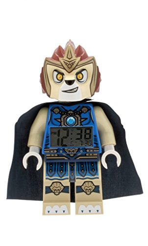 Chi Clock (LEGO Kids' 9000560 Legends of Chima Laval Mini-Figure Light Up Alarm)