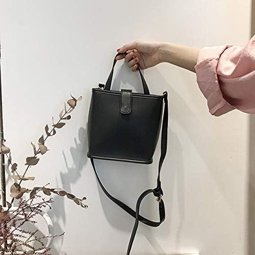 GDSZN Carino Tipo Pu Ladies Borse Donna Due Colori di Alta qualità delle Donne Moderne Borse A Tracolla/Borse A Tracolla/Borse Black