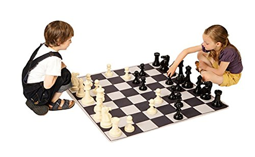 House Of Kids 12356-e3 100 x 100 cm Matte Schach Spielen, Giant Game