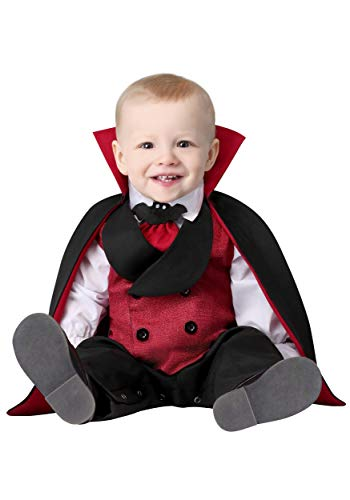 Infant Count Dracula Costume 12/18 Months Red -