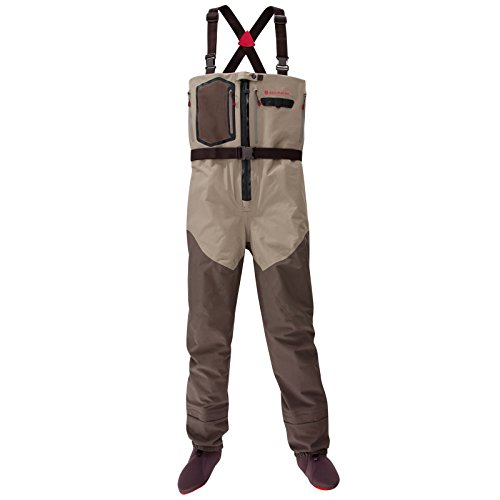 Redington Sonic-Pro HDZ Fly Fishing Waders - Large, Clay