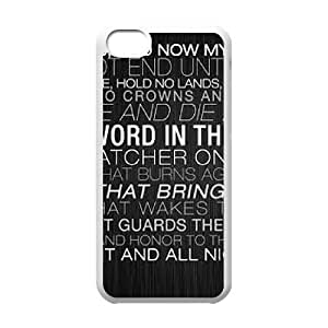 iPhone 5C Phone Cases White Game of Thrones CKL832385