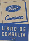 1941 Ford Truck Owner's Manual Spanish NOS