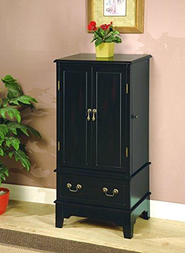Coaster Home Furnishings 5-Drawer Jewelry Armoire Black