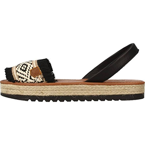 MENORQUINAS POPA Sandals and Slippers for Women, Colour Black, Brand, Model Sandals and Slippers for Women NIDRI Black Black