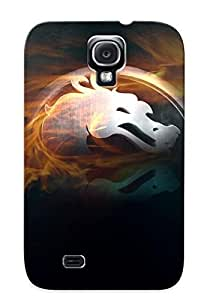 Fashion PC Case For Galaxy S4- Mortal Kombat Logo Defender Case Cover For Lovers