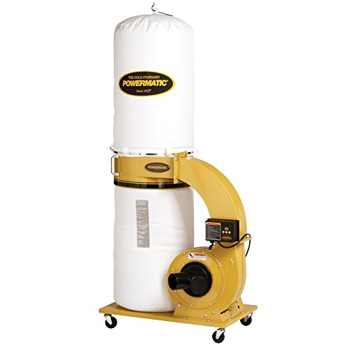 - Powermatic PM1300TX-BK Dust Collector 1.75HP 1PH 115/230-Volt 30-Micron Bag Filter Kit