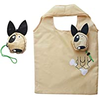Jesaisque Reusable Foldable Waterproof Grocery Shopping Bag