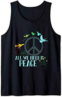 Great Dove Tee  with Sign peace with Bird is great gift Tank Top T-shirt   Size S - 5XL